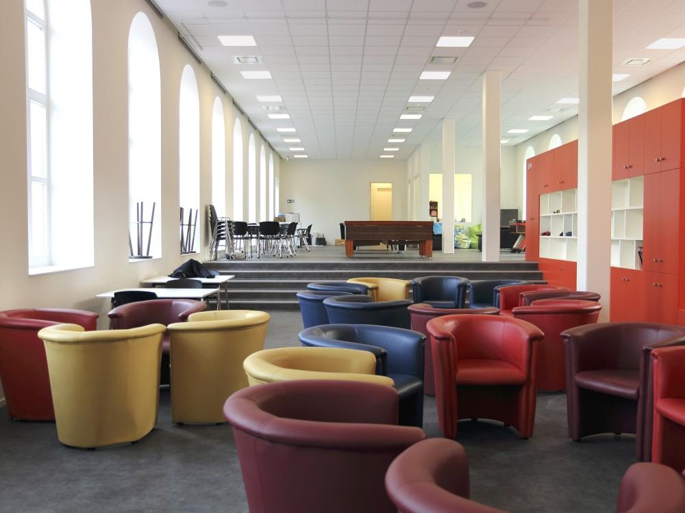 Abscis Architecten - ontspanningsruimte