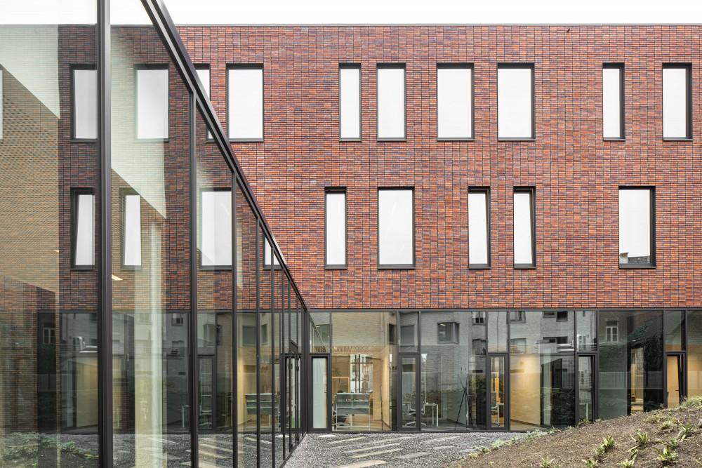 Abscis Architecten - transparant en uitnodigend gelijkvloers – fotografie Jeroen Verrecht