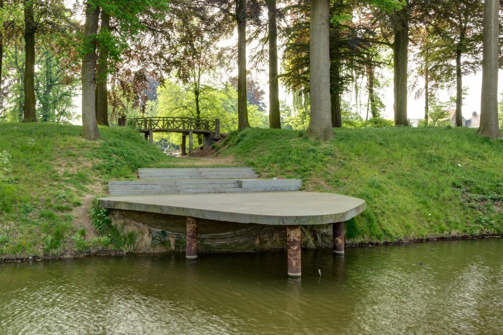 Abscis Architecten - Zitvlonder aan het water  - fotografie Inge Claessens
