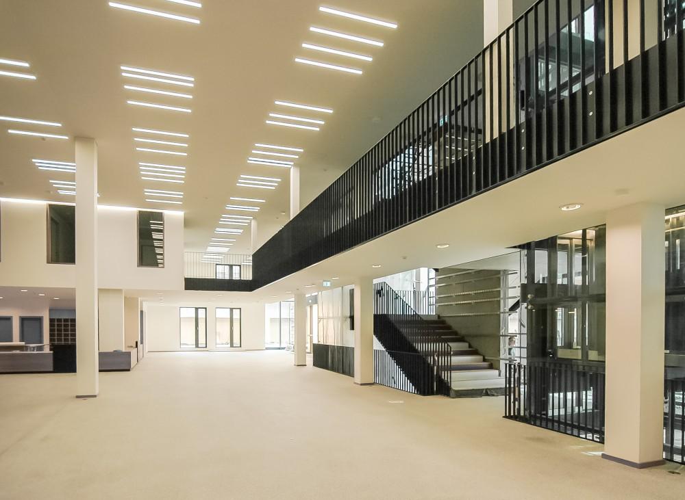 Abscis Architecten - foyer - fotografie Fabeck Architectes