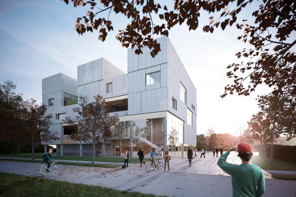 Abscis Architecten - Wandelas - visualisatie Abscis Architecten