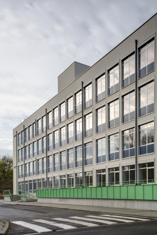 Abscis Architecten - Achtergevel met terras - fotografie Inge Claessens