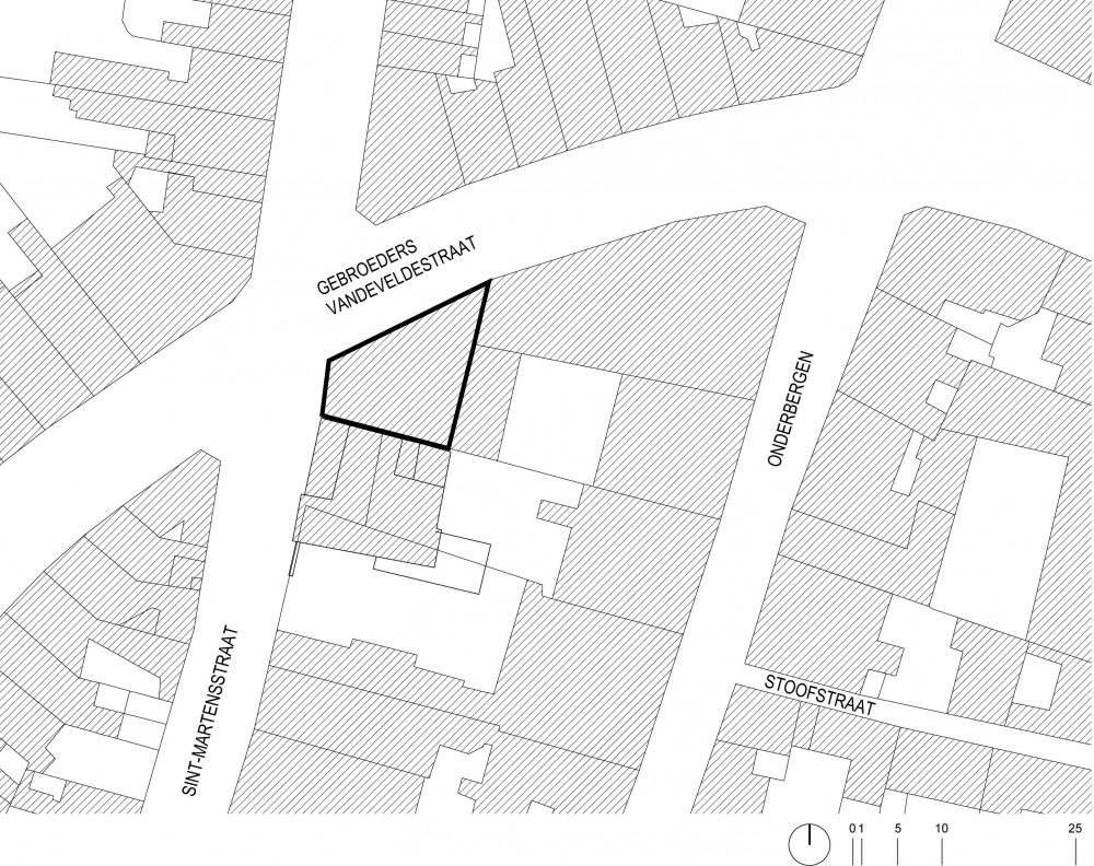 Abscis Architecten - situering