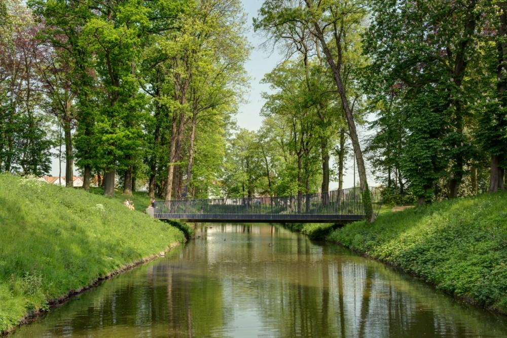 Abscis Architecten - Voetgangersbrug - fotografie Inge Claessens