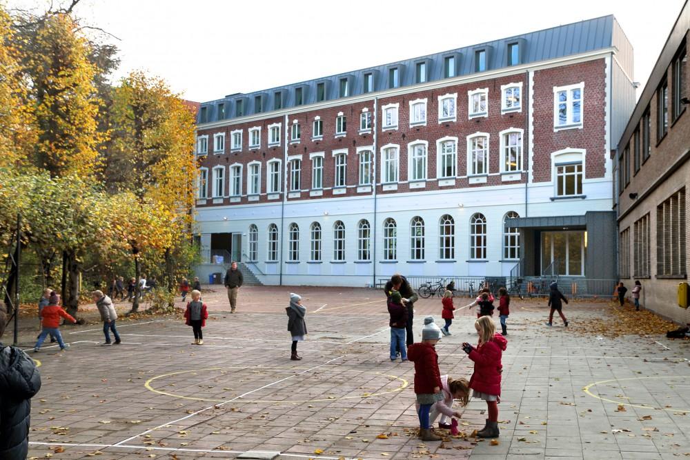 Abscis Architecten - internaat in voormalig 'fort' op campus Plein - fotografie Abscis Architecten