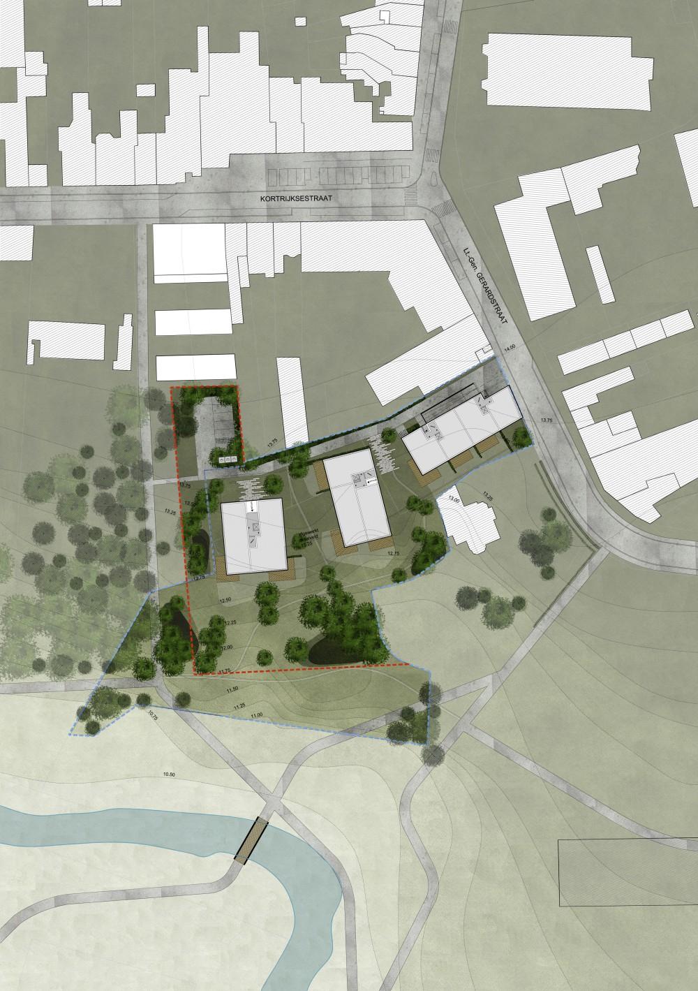 Abscis Architecten - masterplan inrichtingsplan