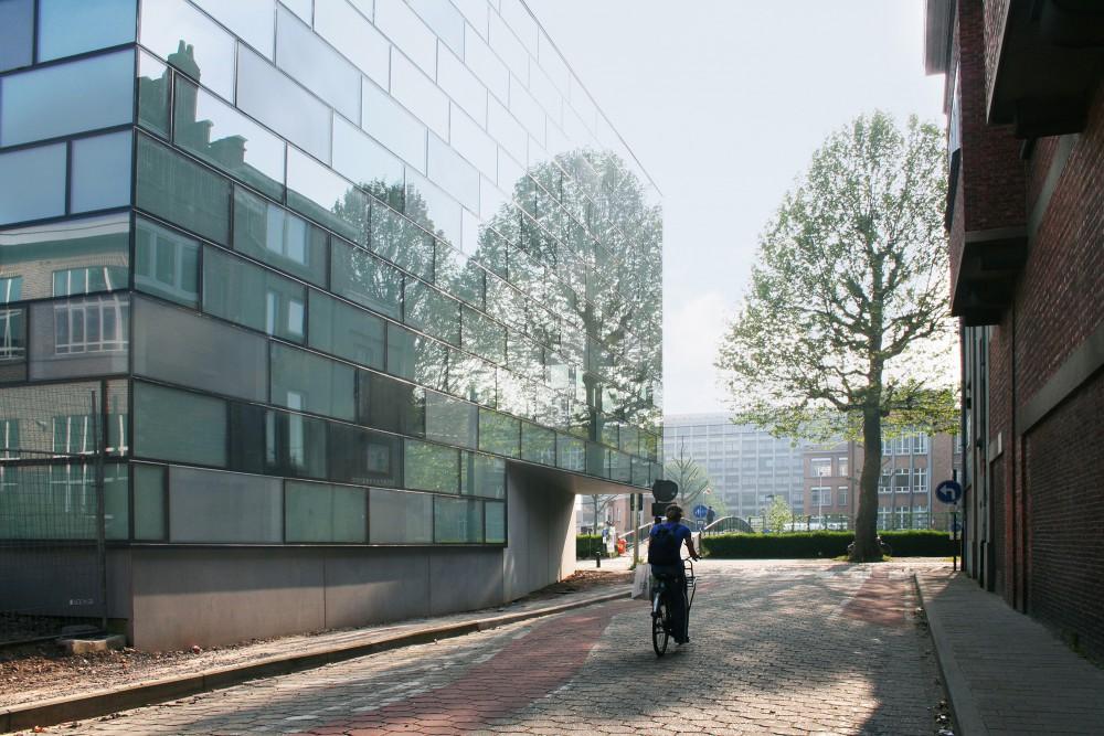 Abscis Architecten - Weerspiegeling van de omgeving – fotografie Abscis Architecten