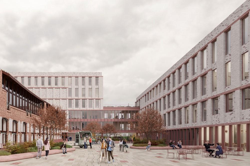 Abscis Architecten - visualisatie G2 Architectural Graphics