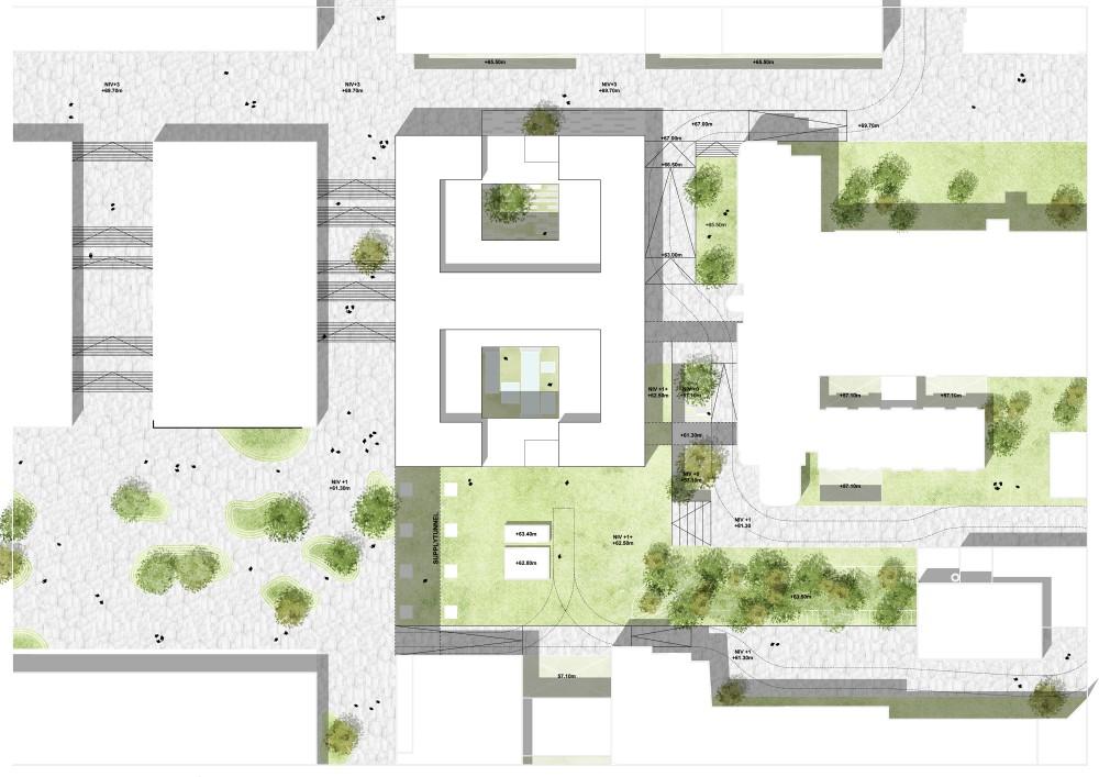 Abscis Architecten - Inplanting oncologisch centrum