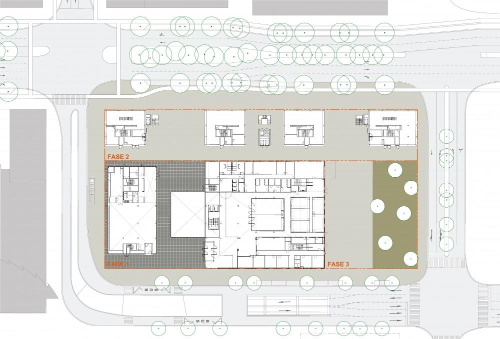Abscis Architecten - site plan