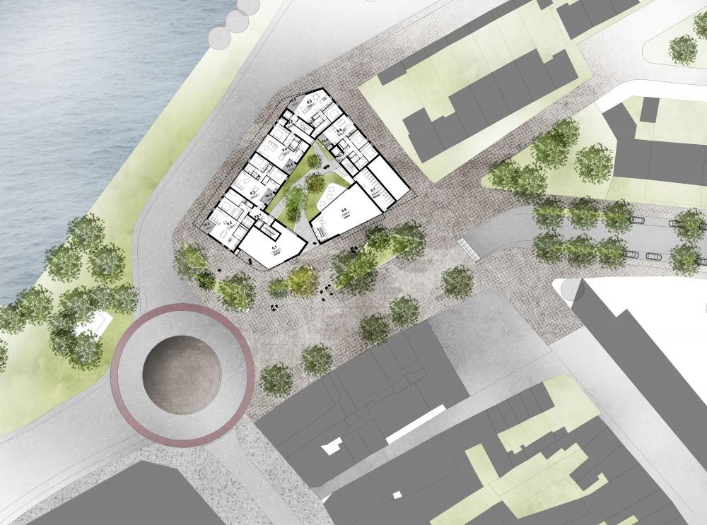 Abscis Architecten - inplantingsplan - voorstel nieuw Kongoplein - Abscis Architecten