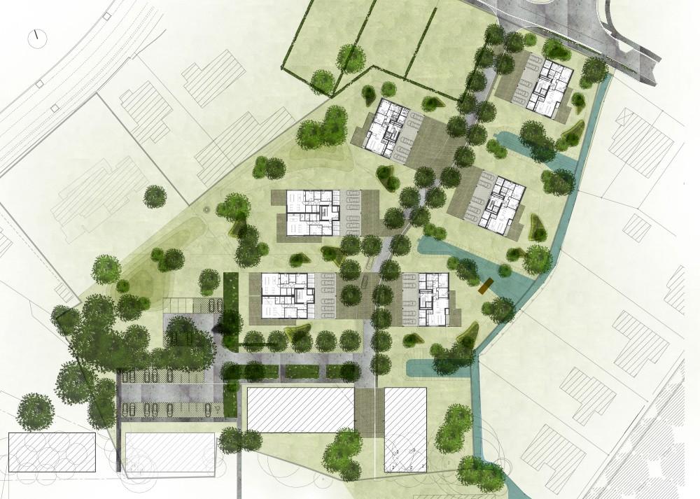 Abscis Architecten - inrichtingsplan