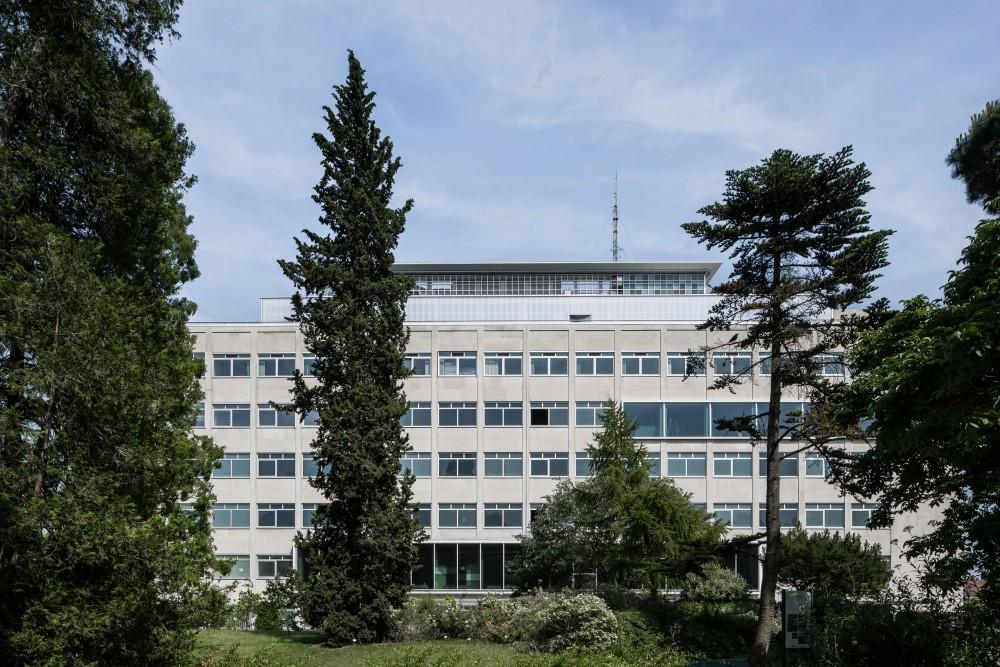Abscis Architecten - zicht vanuit de plantentuin - foto Jeroen Verrecht