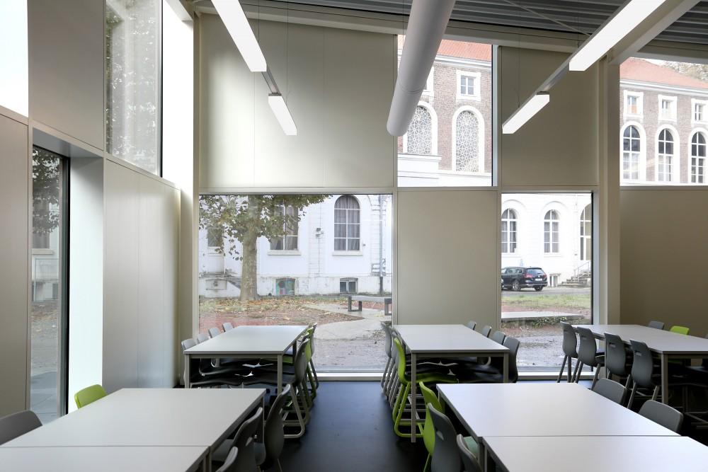 Abscis Architecten - interieur refter - fotografie Abscis Architecten