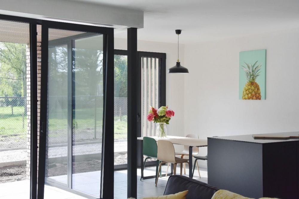 Abscis Architecten - interieur appartement - fotografie Re-Vive