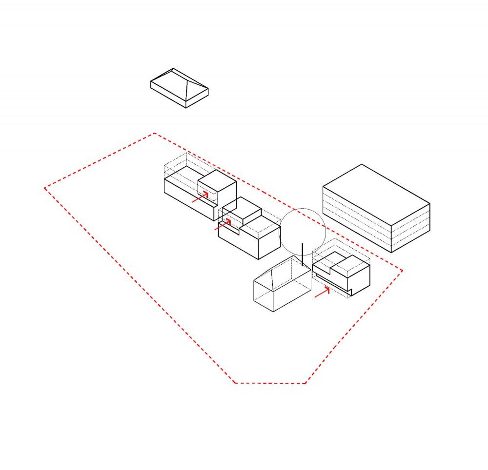 Abscis Architecten - Volumestudie