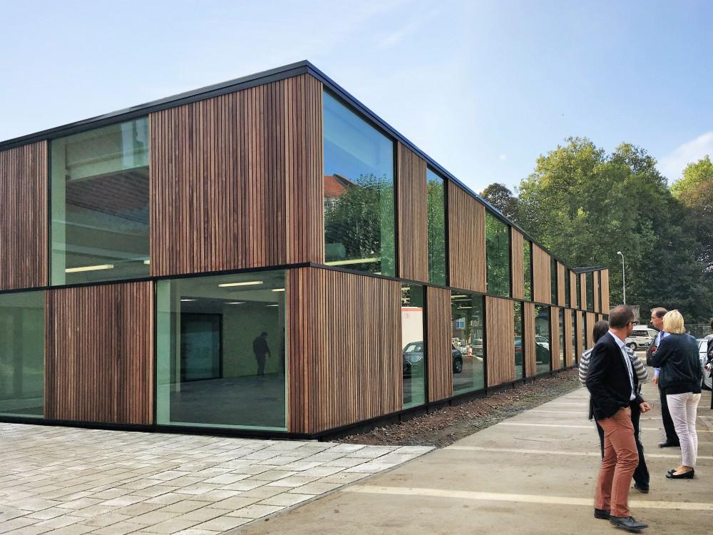 Abscis Architecten - nieuw paviljoen refter