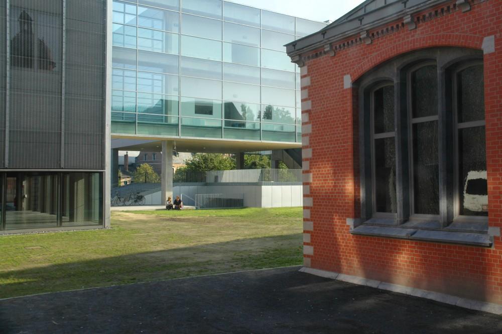 Abscis Architecten - Groene ruimte tussen oud en nieuw – fotografie Peter Lorré