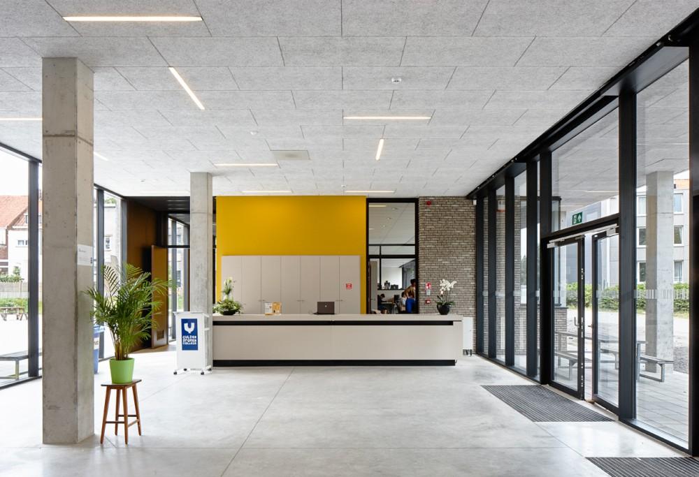 Abscis Architecten - inkom - fotografie Dennis De Smet