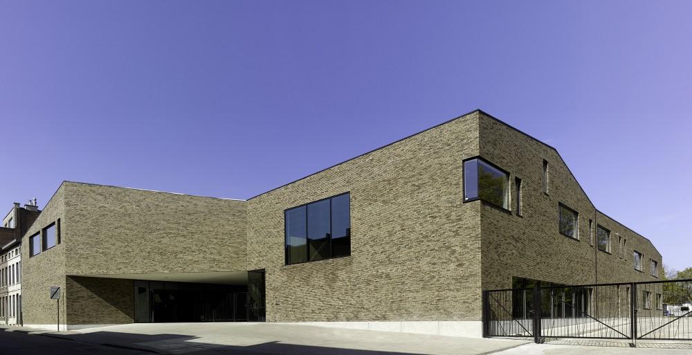 Abscis Architecten - basisschool: gevel Dreefstraat – fotografie Toon Grobet