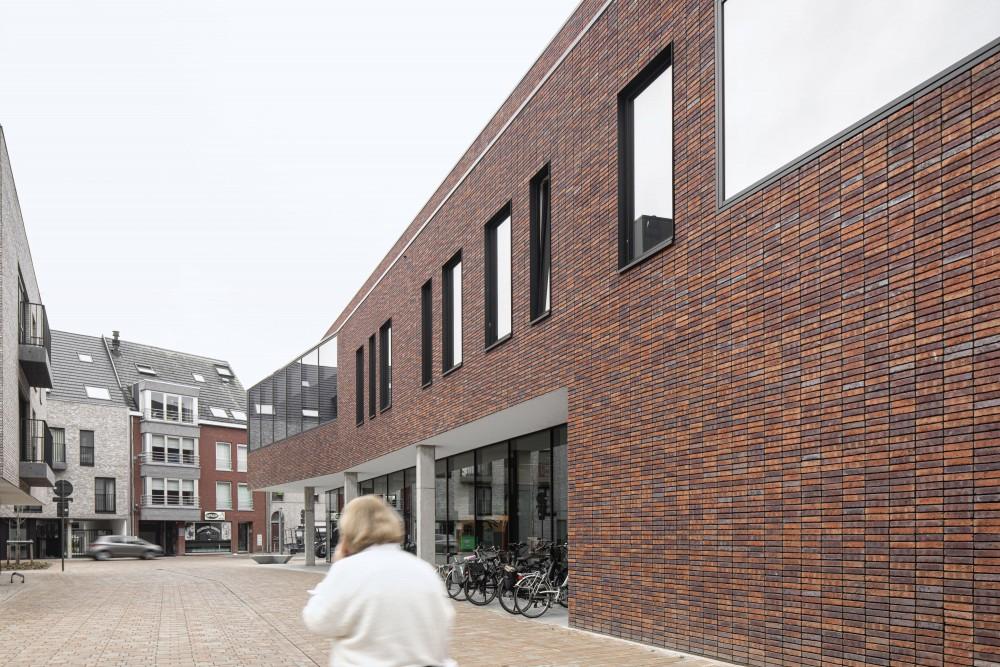 Abscis Architecten - nieuw knooppunt Nieuwstraat - Peperholleken – fotografie Jeroen Verrecht