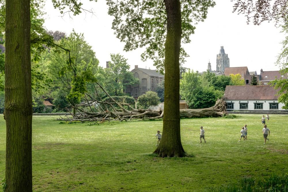 Abscis Architecten - Het opengewerkte Terreplein - fotografie Inge Claessens