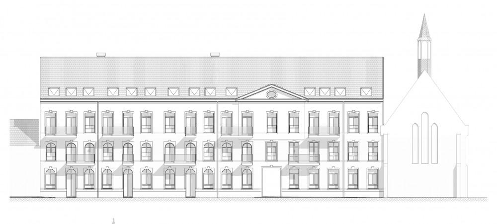 Abscis Architecten - gevel straatzijde - Abscis Architecten