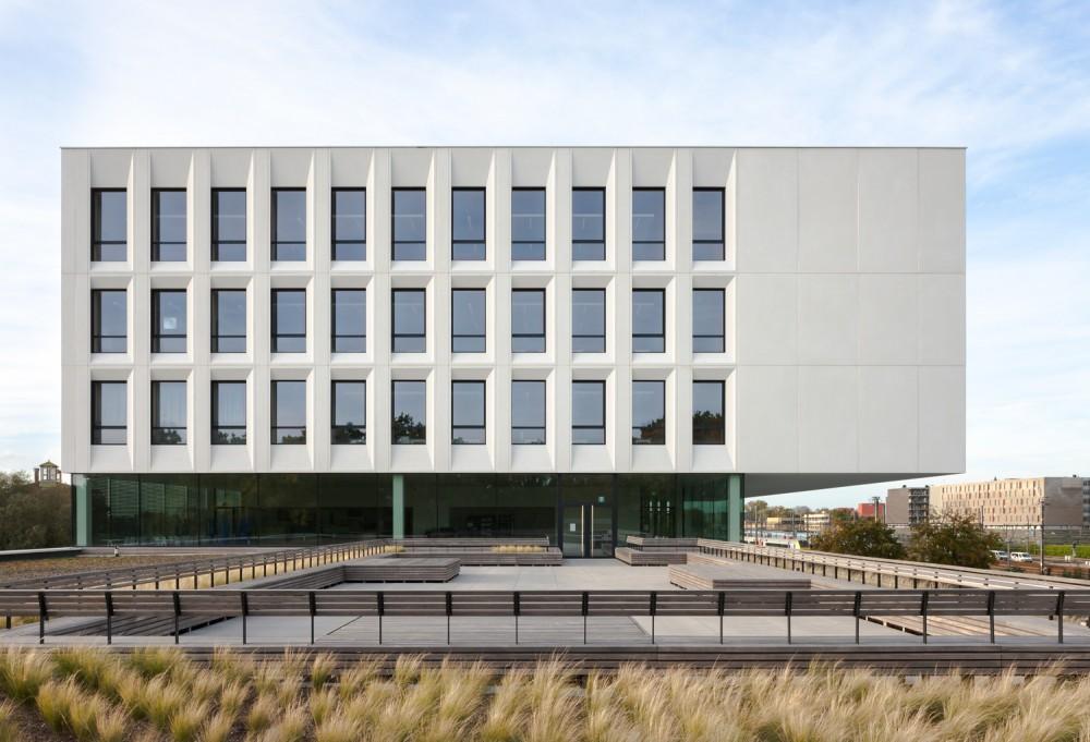 Abscis Architecten - dakterras - fotografie Dennis De Smet