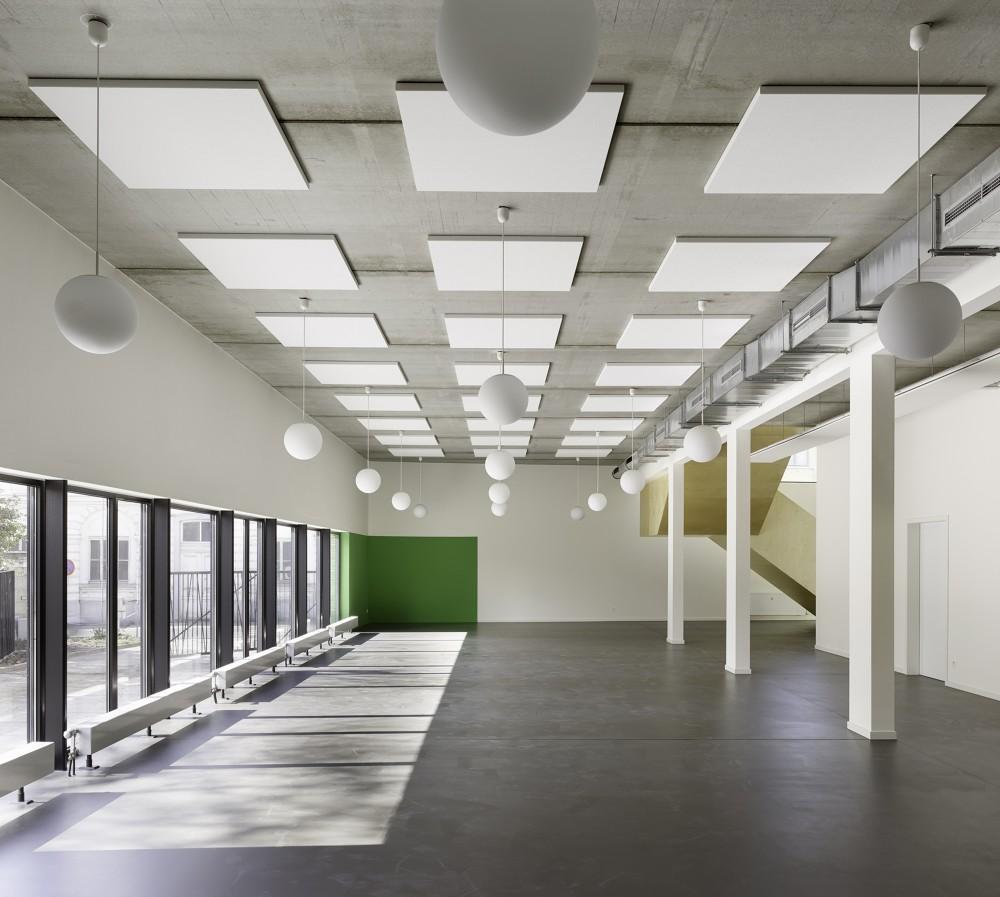 Abscis Architecten - refterruimte basisschool – fotografie Toon Grobet
