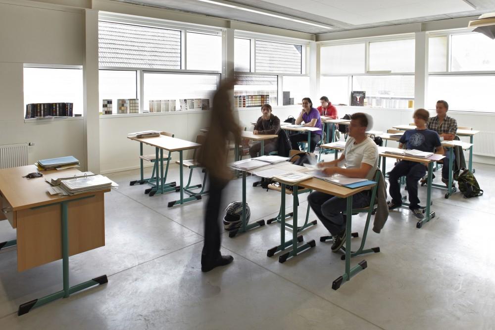 Abscis Architecten - Klaslokaal – fotografie Steven Neyrinck