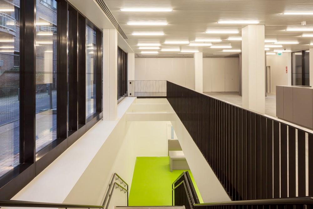 Abscis Architecten - Toegang tot het restaurant  – fotografie Cafeine