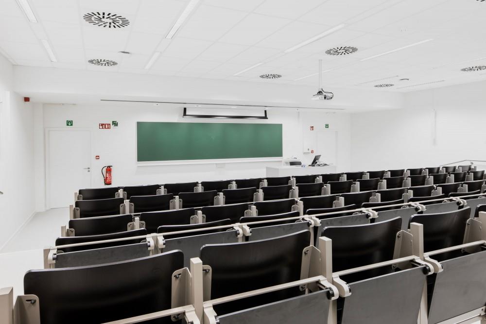 Abscis Architecten - auditorium - foto Jeroen Verrecht