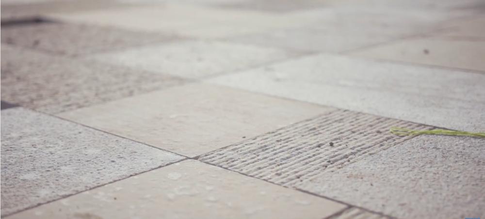Abscis Architecten - detail natuursteen - foto Stad Oudenaarde