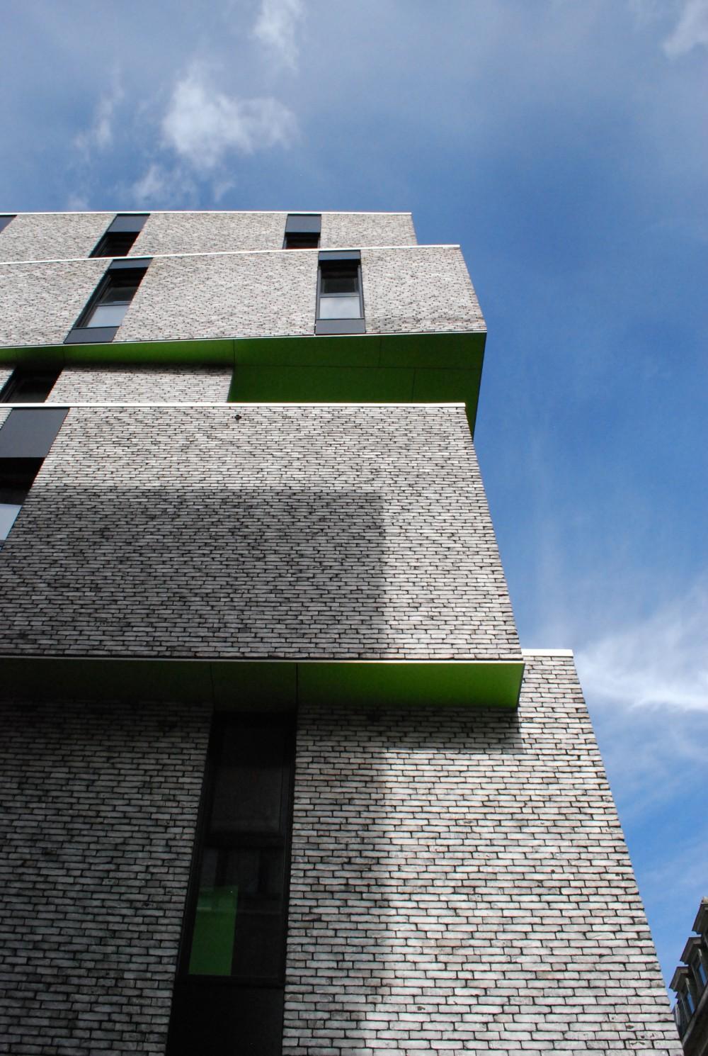 Abscis Architecten - Uitwaaiiering van de gevel – fotografie Abscis Architecten