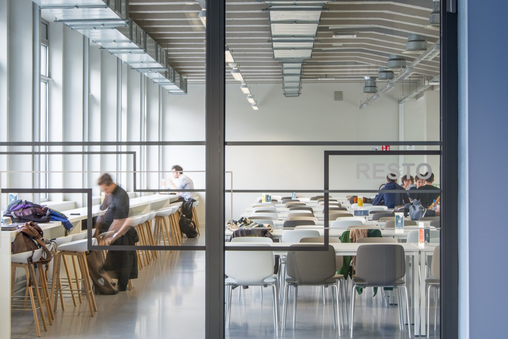 Abscis Architecten - Studentenresto - fotografie Inge Claessens