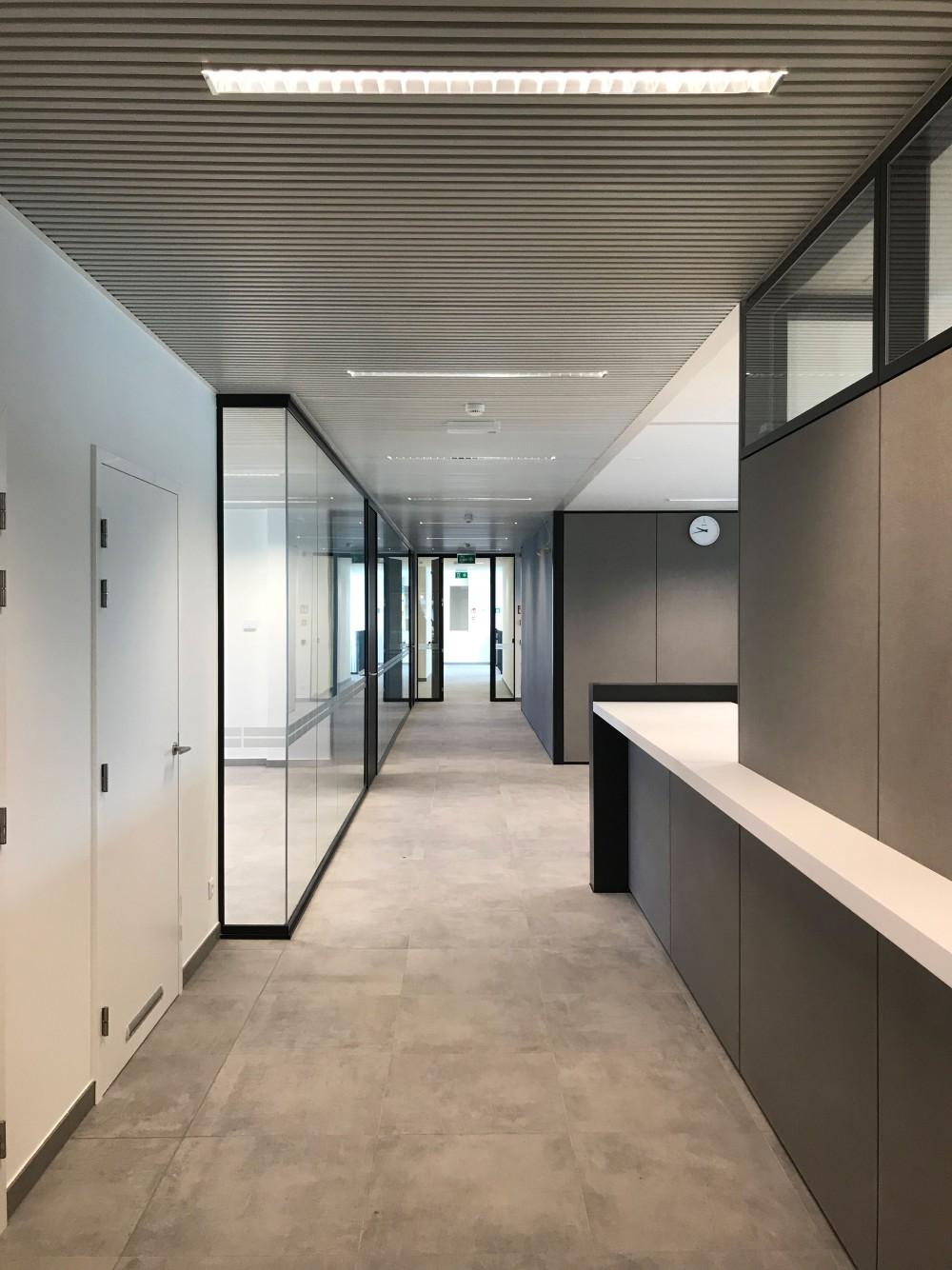 Abscis Architecten - interieur nieuw administratief centrum