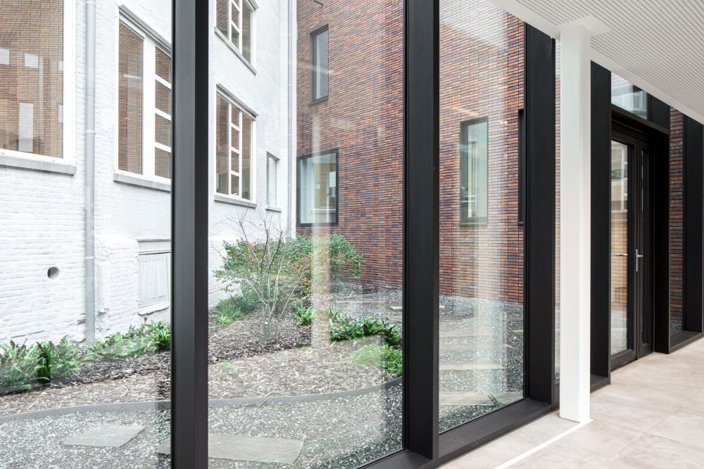 Abscis Architecten - patio – fotografie Jeroen Verrecht