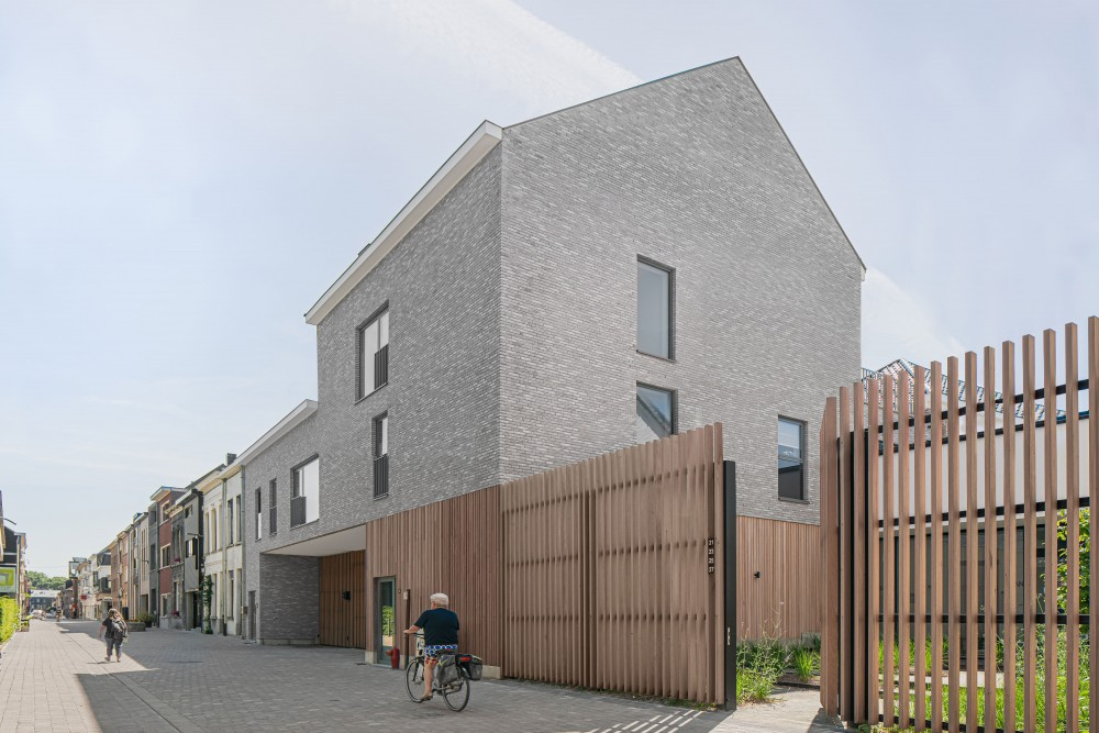 Abscis Architecten - street view - photo Jeroen Verrecht