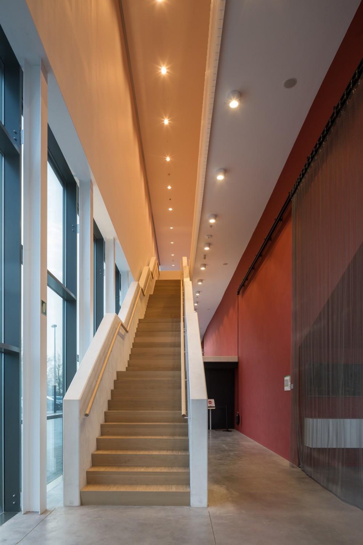 Abscis Architecten - Heldere circulatie doorheen het gebouw – fotografie Thomas De Bruyne