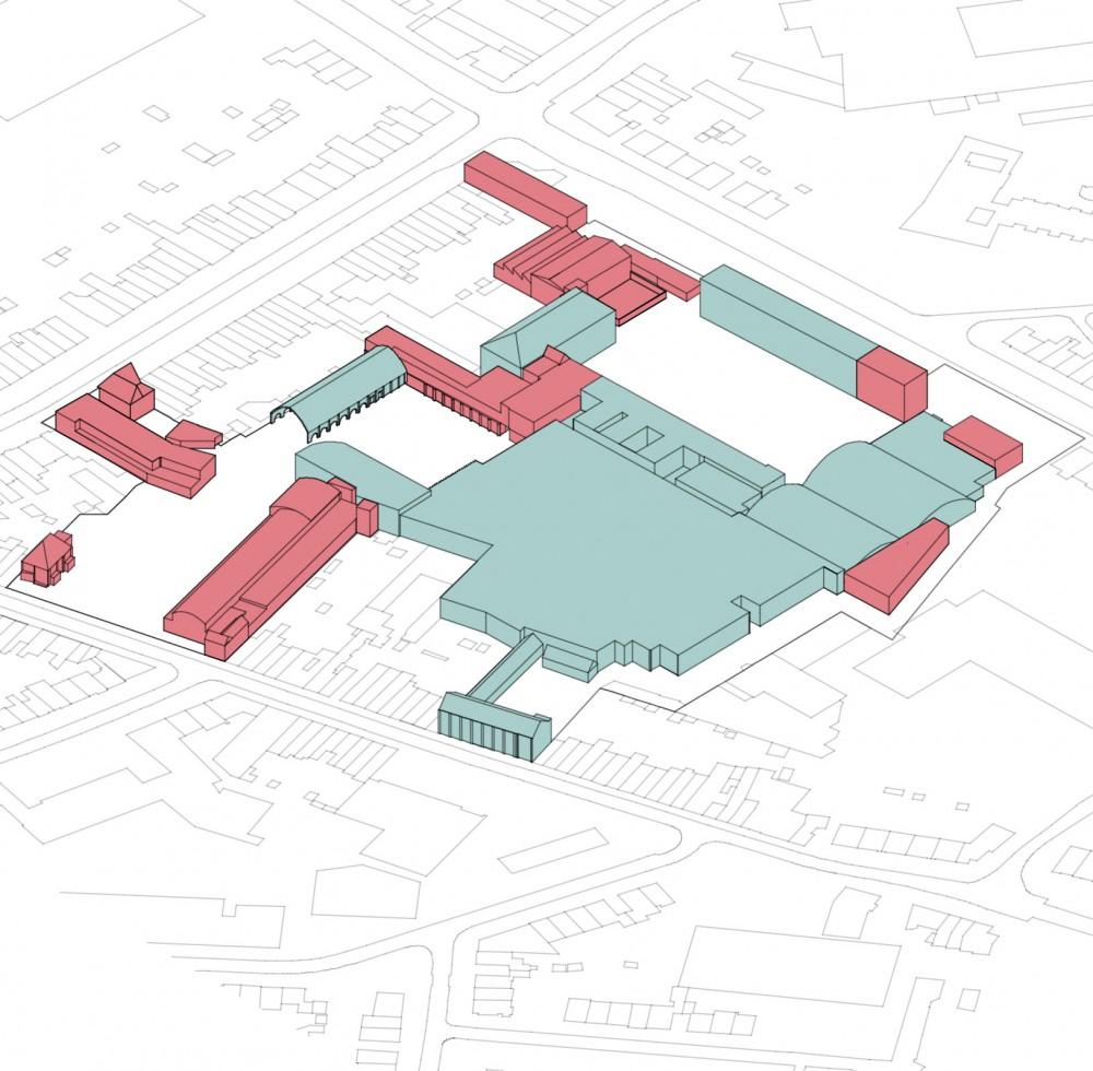 Abscis Architecten - schema behoud vs. afbraak