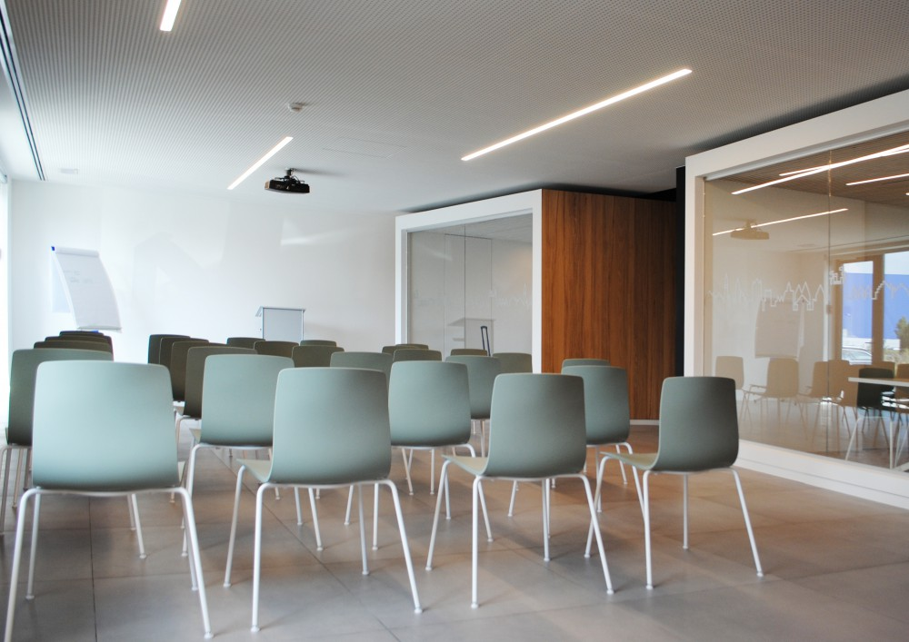 Abscis Architecten - Presentatie-/receptieruimte - fotografie Abscis Architecten