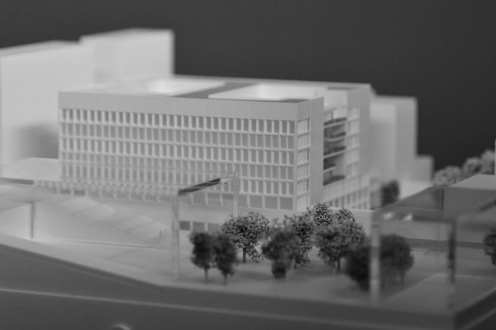 Abscis Architecten - Wedstrijdmaquette (iMake)