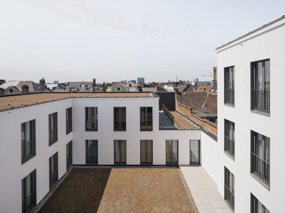 Abscis Architecten - patio - foto Jeroen Verrecht