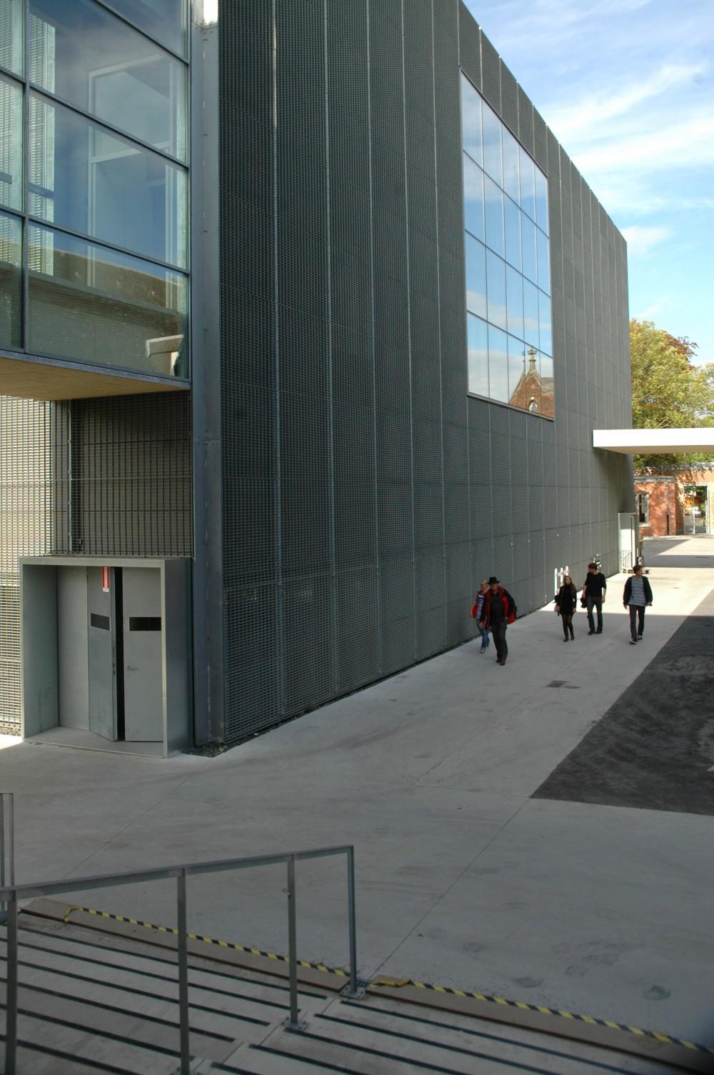 Abscis Architecten - Ingang naar de nieuwe zwarte zaal – copyright Peter Lorré