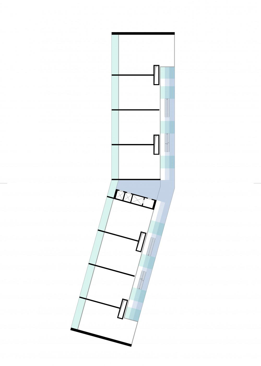 Abscis Architecten - schema privaat - publiek