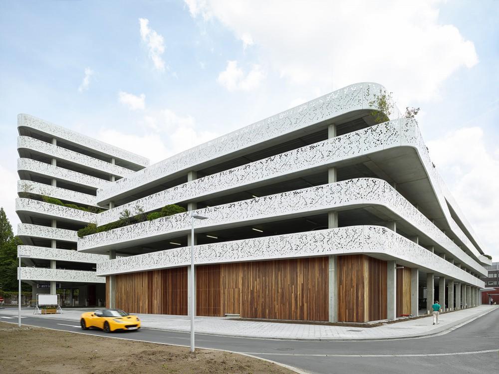 Abscis Architecten - Wood and aluminum - photography Dennis De Smet