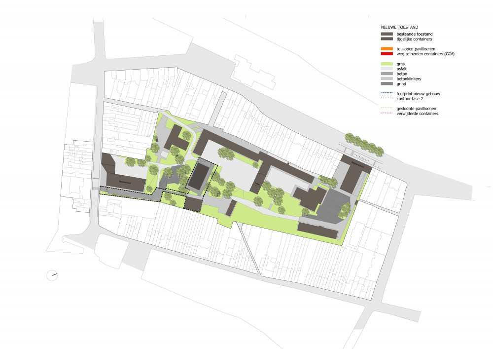 Abscis Architecten - overview new situation