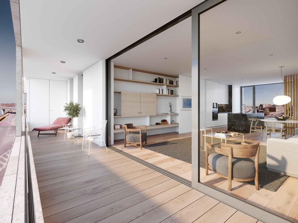 Abscis Architecten - doorzon - visualisatie Landbergh