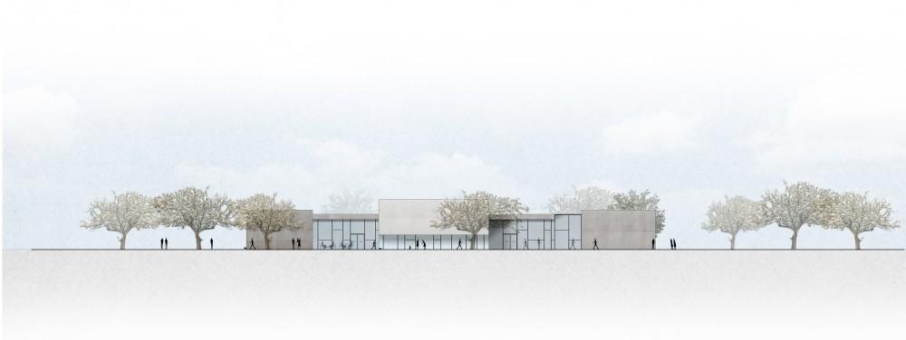 Abscis Architecten - Achtergevel servicestation