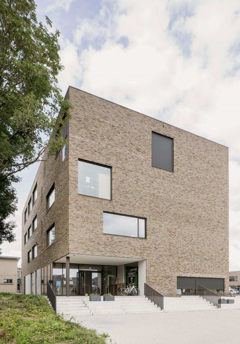 Abscis Architecten - atheneum: vrijstaand volume - foto Jeroen Verrecht